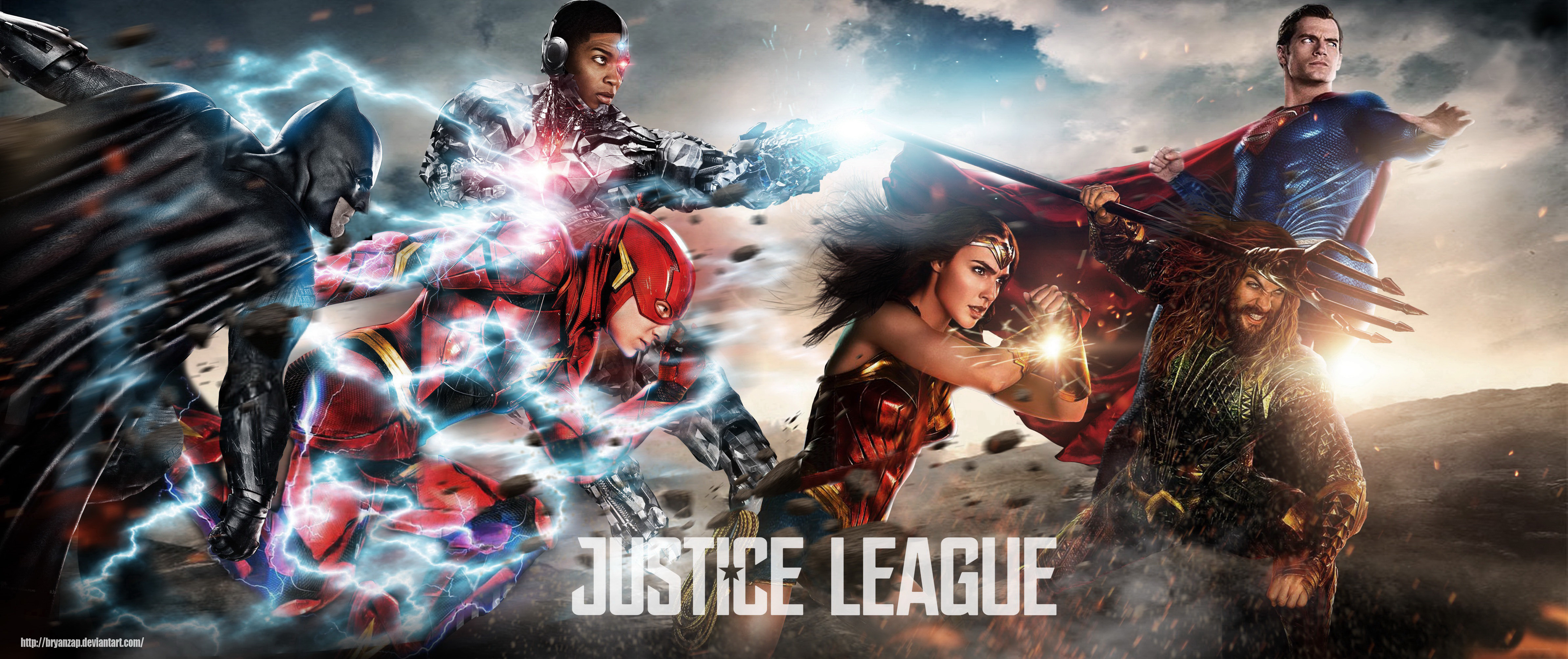 Justice League Hd Wallpaper Background Image 4772x2008 Id 1001732 Wallpaper Abyss