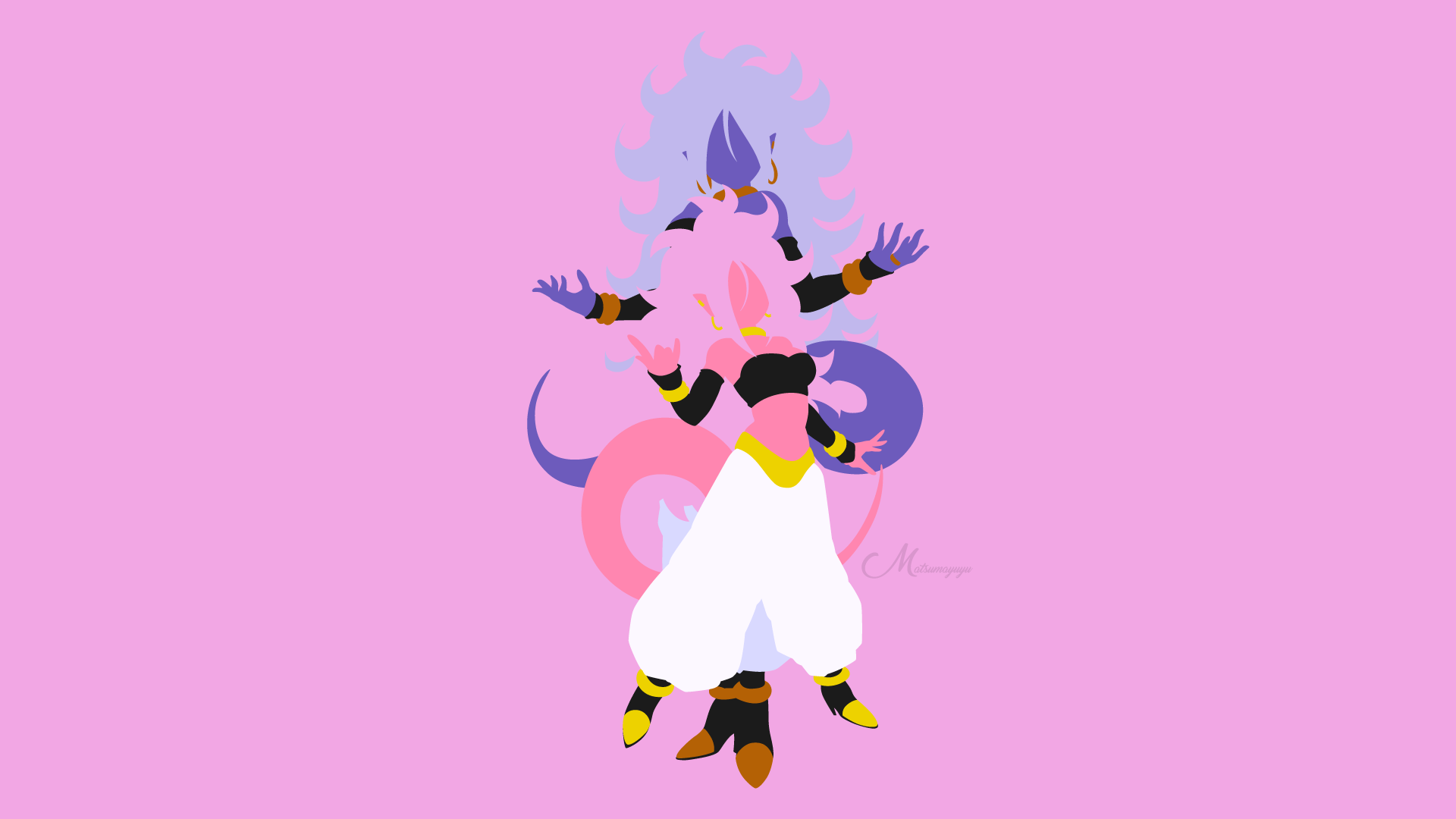 Majin Android 21 From Dragon Ball Fighterz Hd Wallpaper