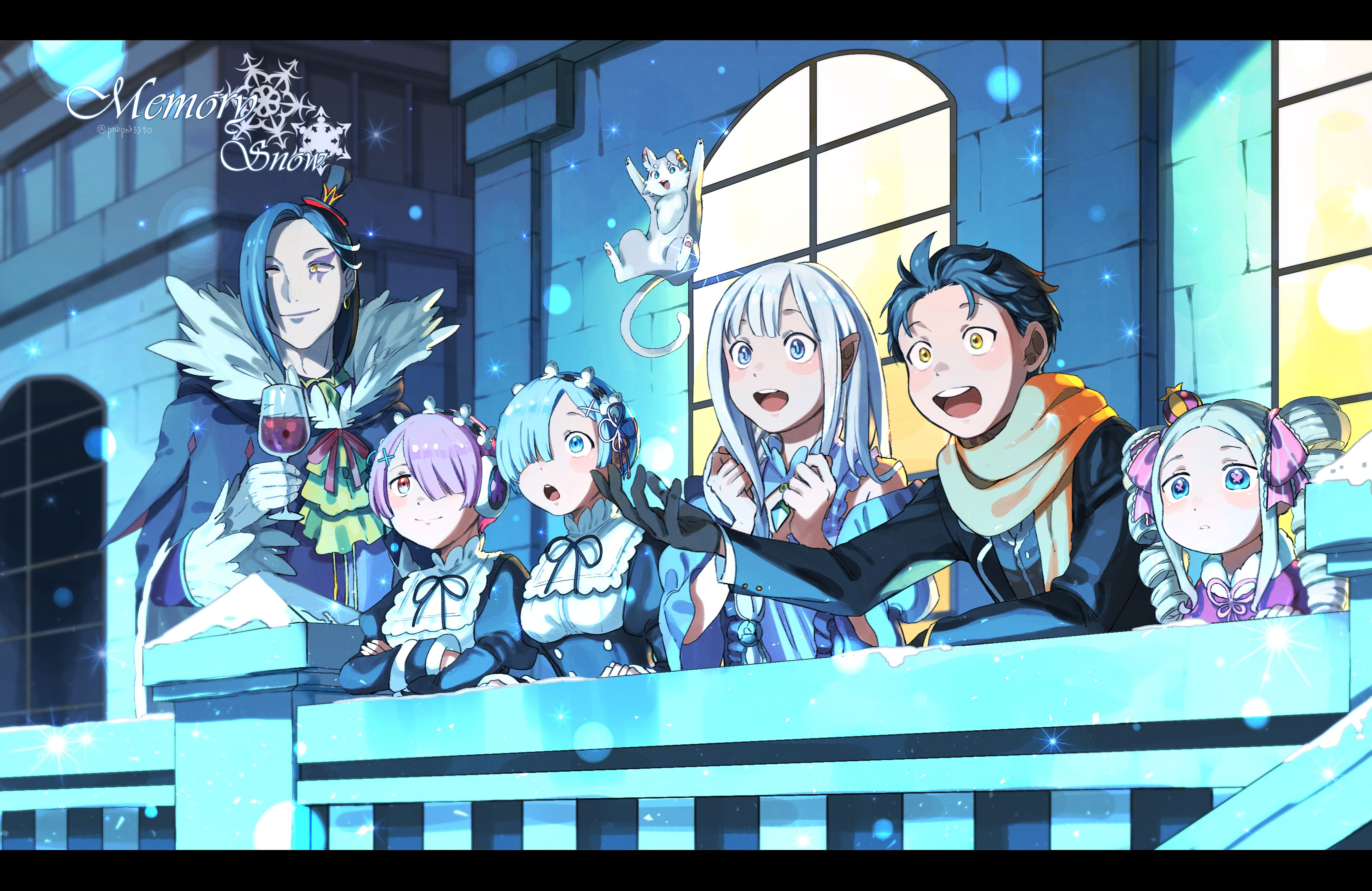 Re Zero Starting Life In Another World Hd Wallpaper Background Image 3312x2150 Id 1003829 Wallpaper Abyss