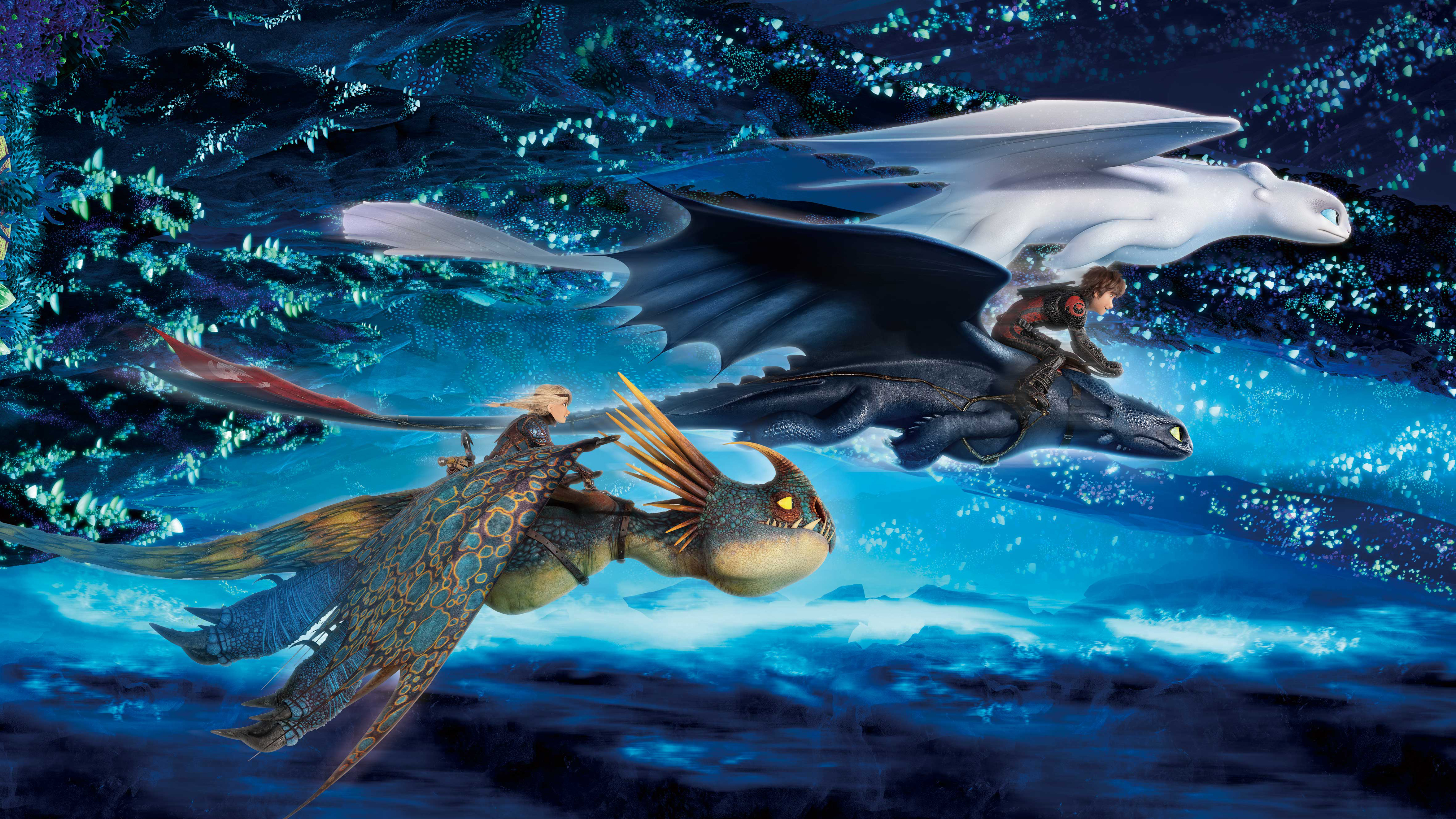 How To Train Your Dragon The Hidden World 4k Ultra Hd Wallpaper