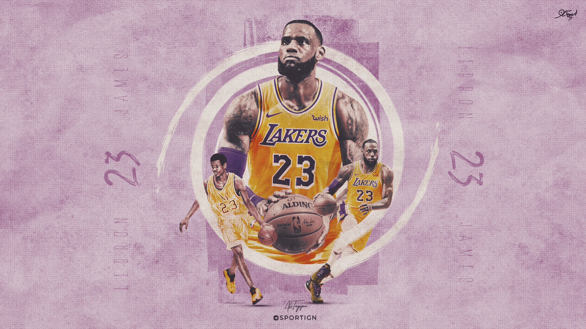 LeBron James HD Wallpaper | Background Image | 1920x1080 ...
