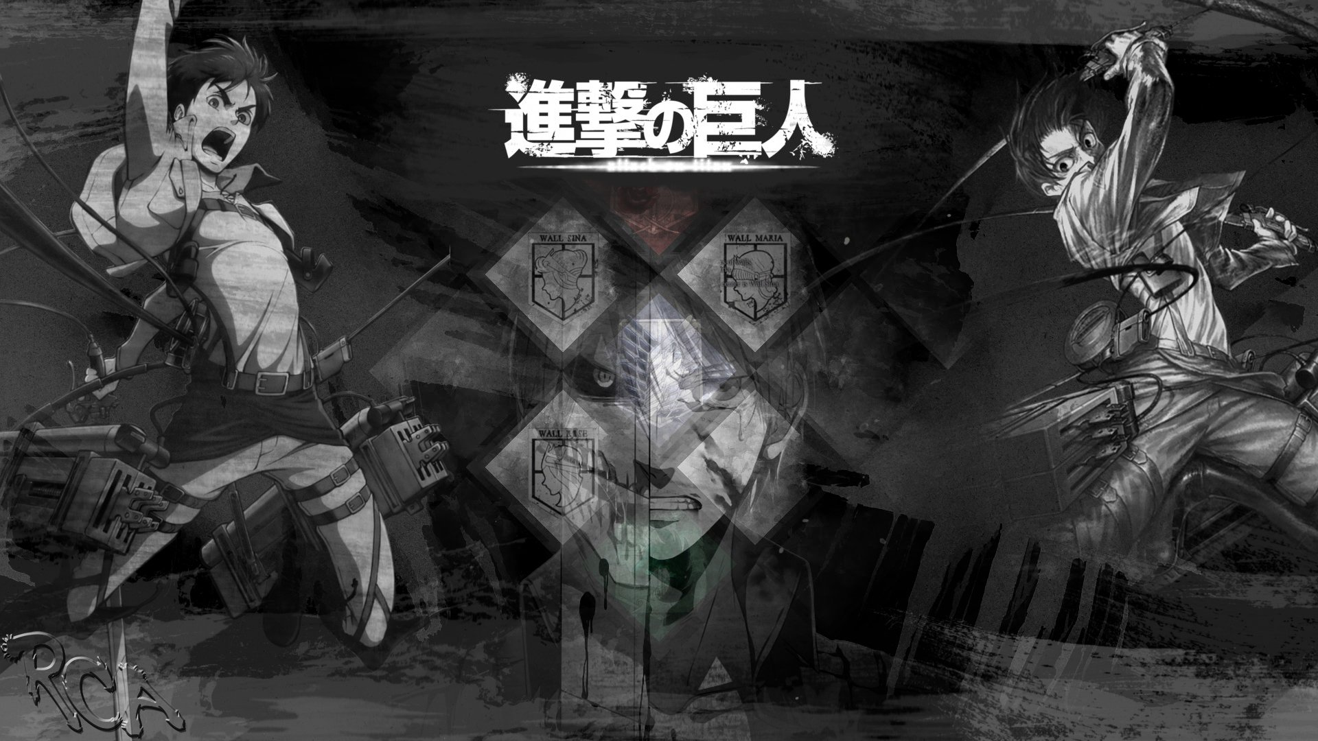 Attack On Titan Hd Wallpaper Background Image 1920x1080 Id 1009401 Wallpaper Abyss