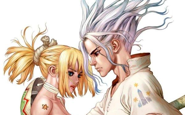 Anime Dr. Stone Senku Ishigami Kohaku HD Wallpaper | Background Image