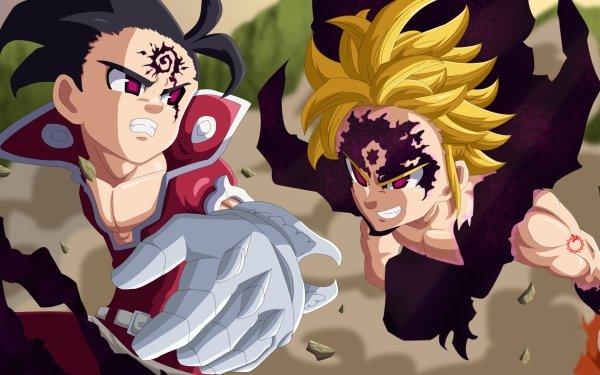 Anime The Seven Deadly Sins Zeldris Meliodas Demon King HD Wallpaper | Background Image