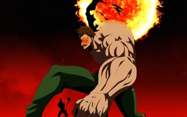 Anime The Seven Deadly Sins Escanor Galand HD Wallpaper   Background Image