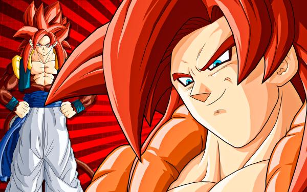 Anime Dragon Ball GT Dragon Ball Gogeta Super Saiyan 4 HD Wallpaper | Background Image
