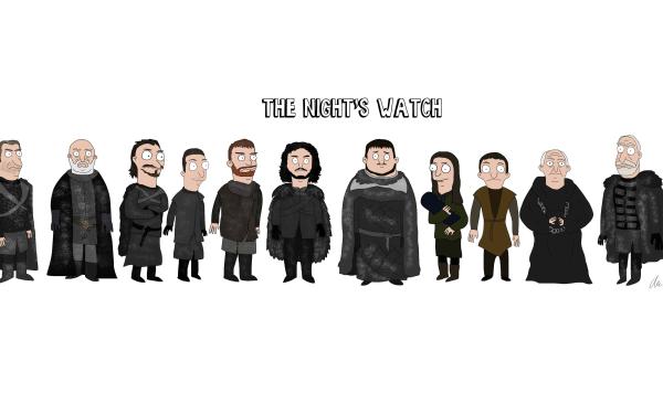 TV Show Game Of Thrones Janos Slynt Dolorous Edd Grenn Jon Snow Samwell Tarly Gilly Aemon Targaryen Jeor Mormont HD Wallpaper | Background Image