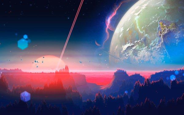 Sci Fi Landscape HD Wallpaper   Background Image