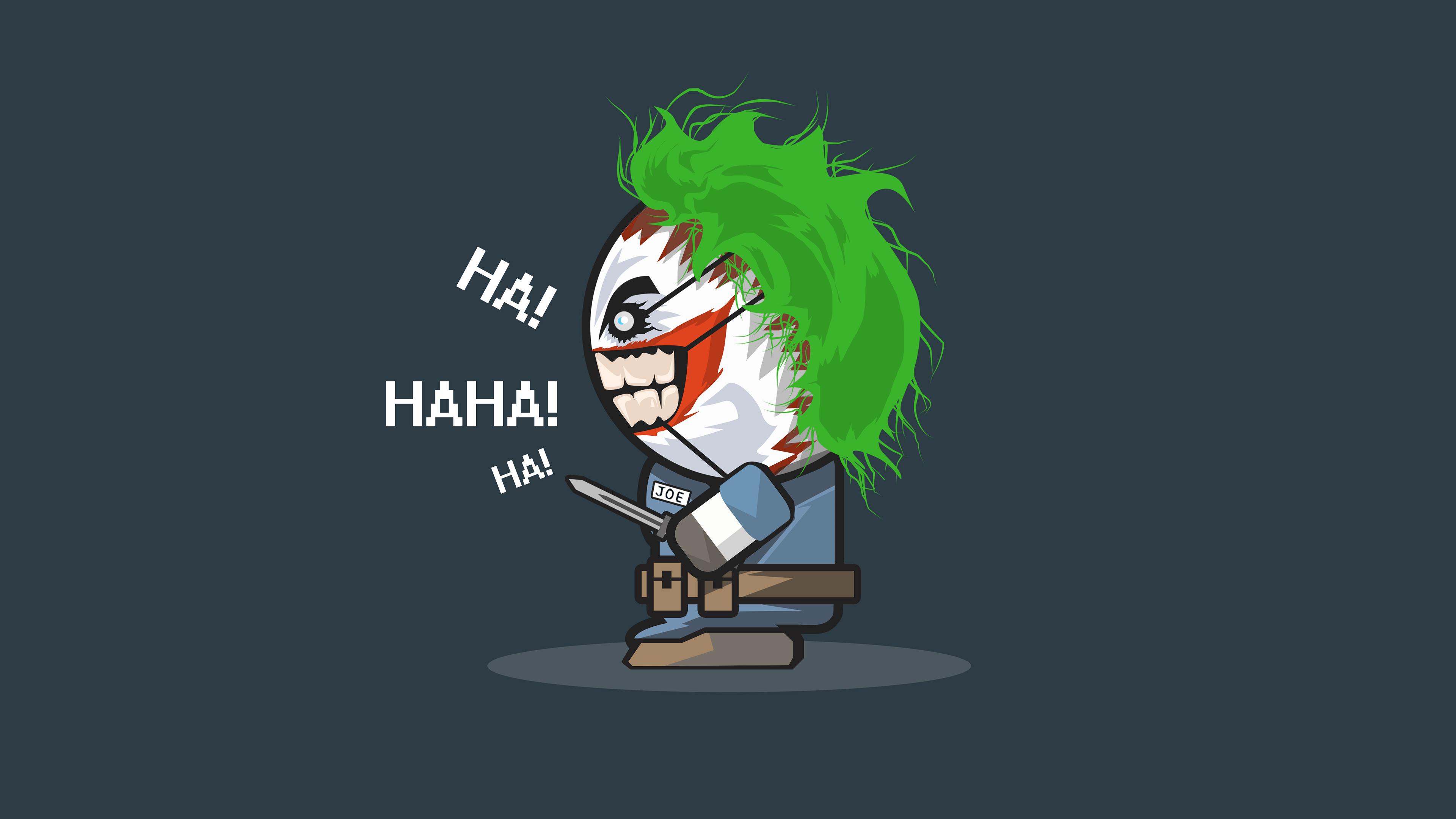 Joker 4k Ultra Hd Wallpaper Background Image 3840x2160