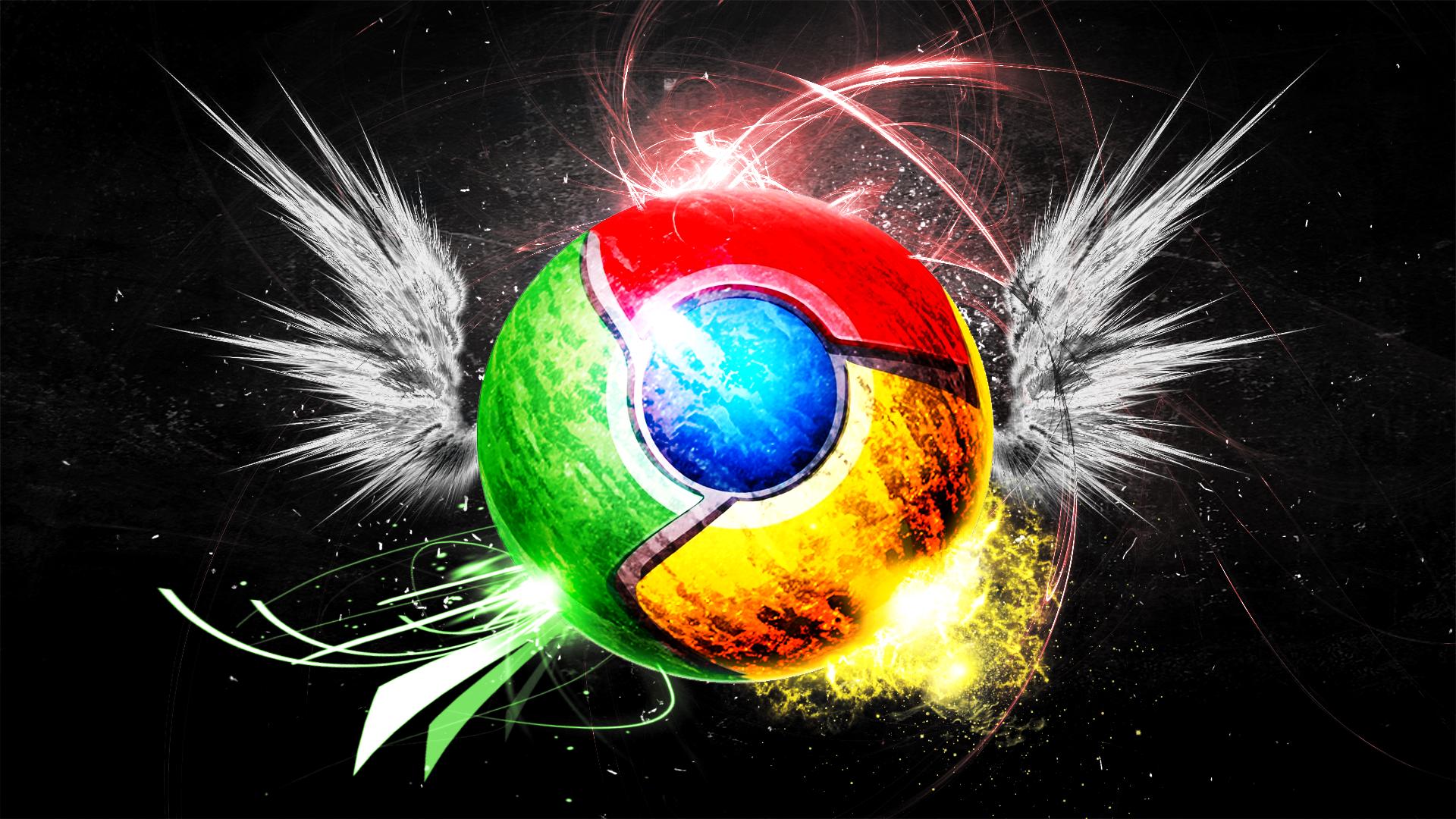Google Chrome HD Wallpaper
