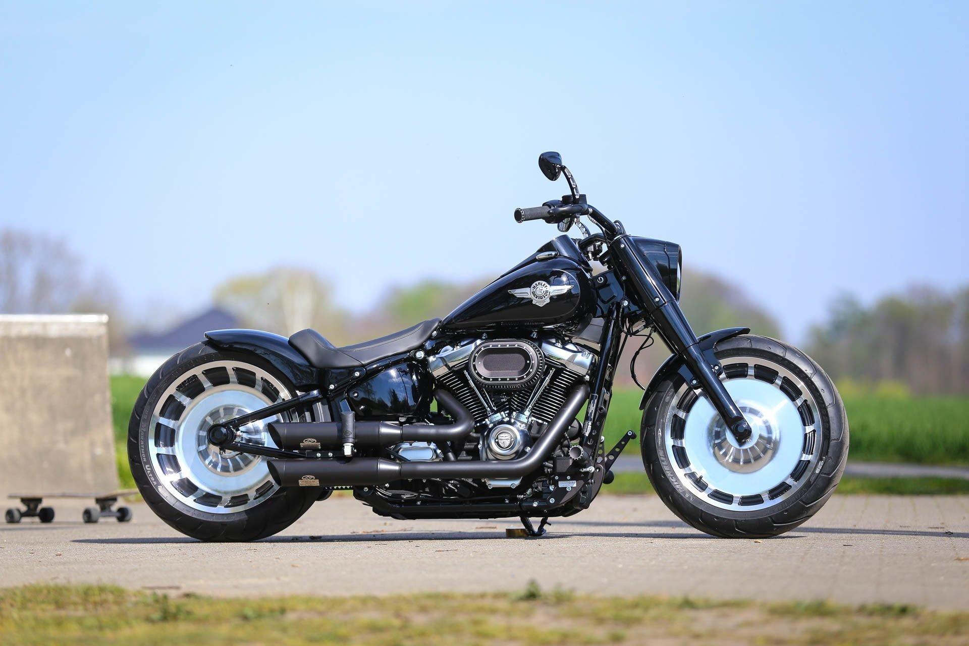 Nightclub Customized Thunderbike Harley Davidson Fat Boy Hd