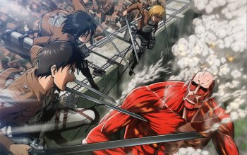 45 Colossal Titan Hd Wallpapers Background Images Wallpaper Abyss Page 2