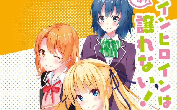 Anime Crossover Yahari Ore no Seishun Love Come wa Machigatteiru Gamers! Saekano: How to Raise a Boring Girlfriend Yui Yuigahama Chiaki Hoshinomori Eriri Spencer Sawamura Fondo de pantalla HD   Fondo de Escritorio