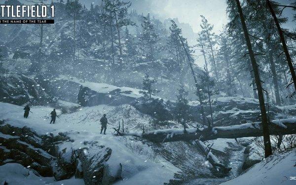 Video Game Battlefield 1 Battlefield Winter World War I HD Wallpaper   Background Image
