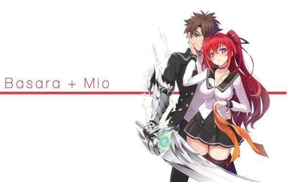 Anime Shinmai Maou No Testament Shinmai Maou no Testament: Burst Basara Toujou Mio Naruse HD Wallpaper | Background Image