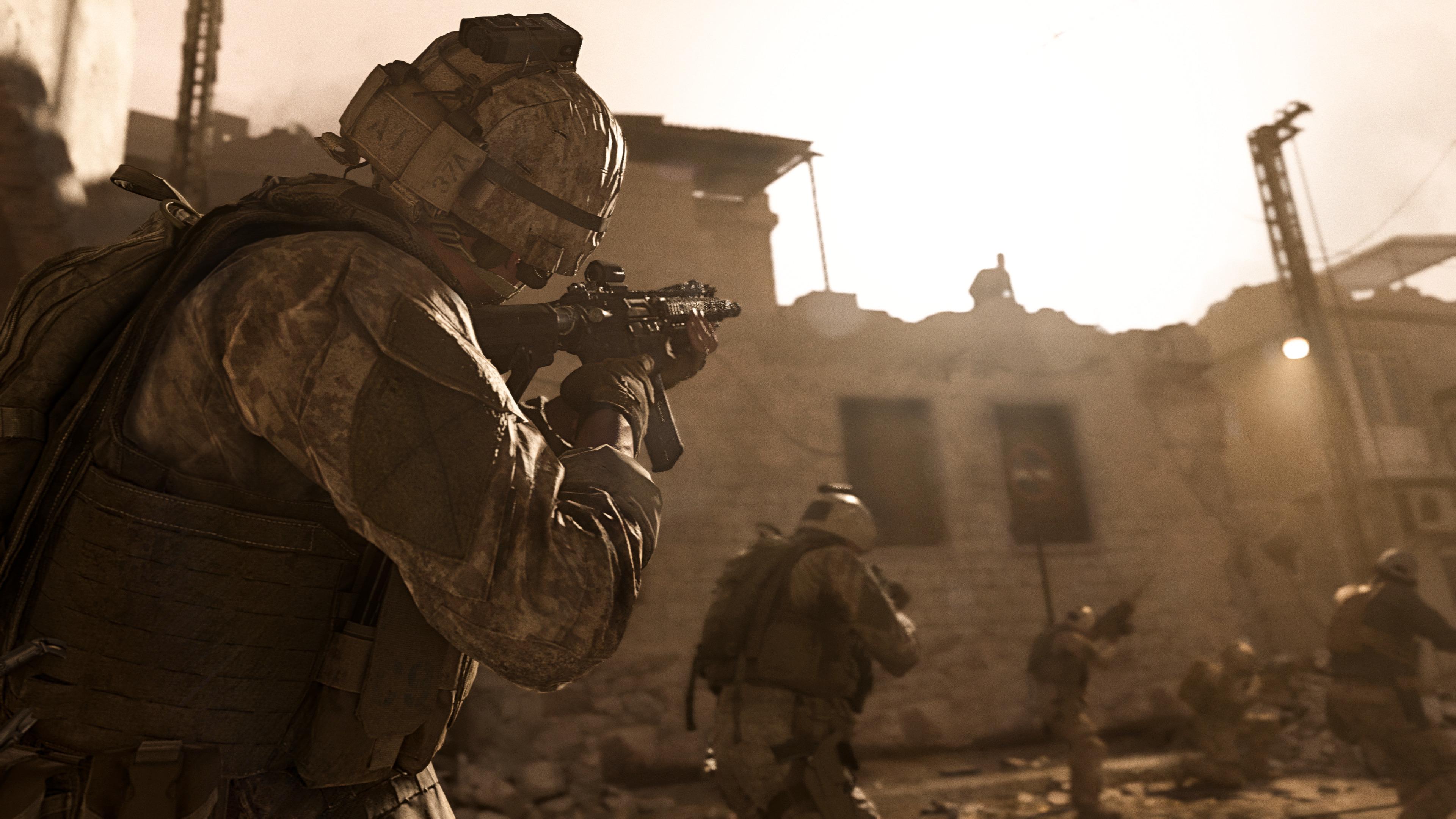 call of duty modern warfare wallpaper 4k