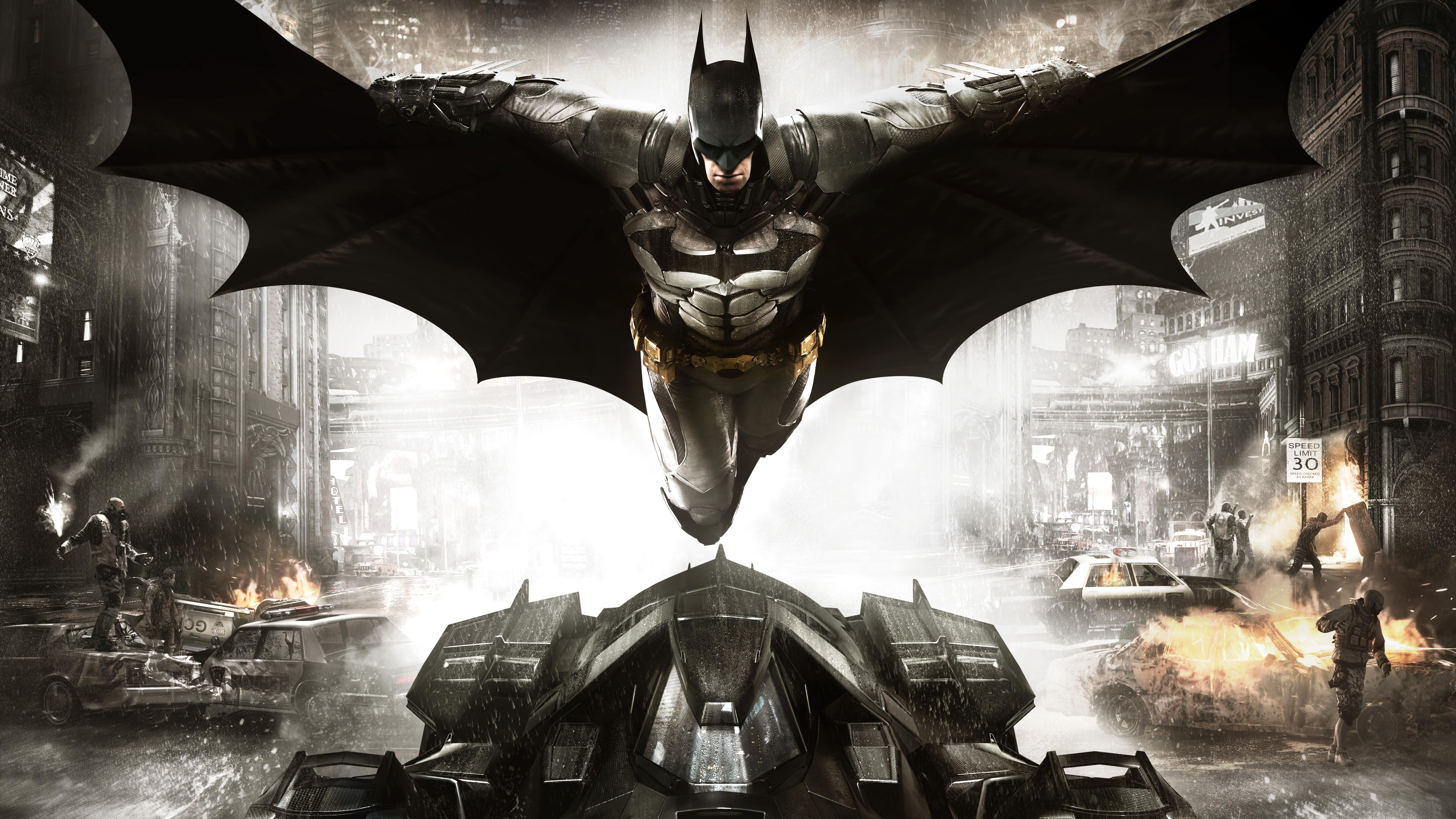 Batman Arkham Knight 8k Ultra Hd Wallpaper Background
