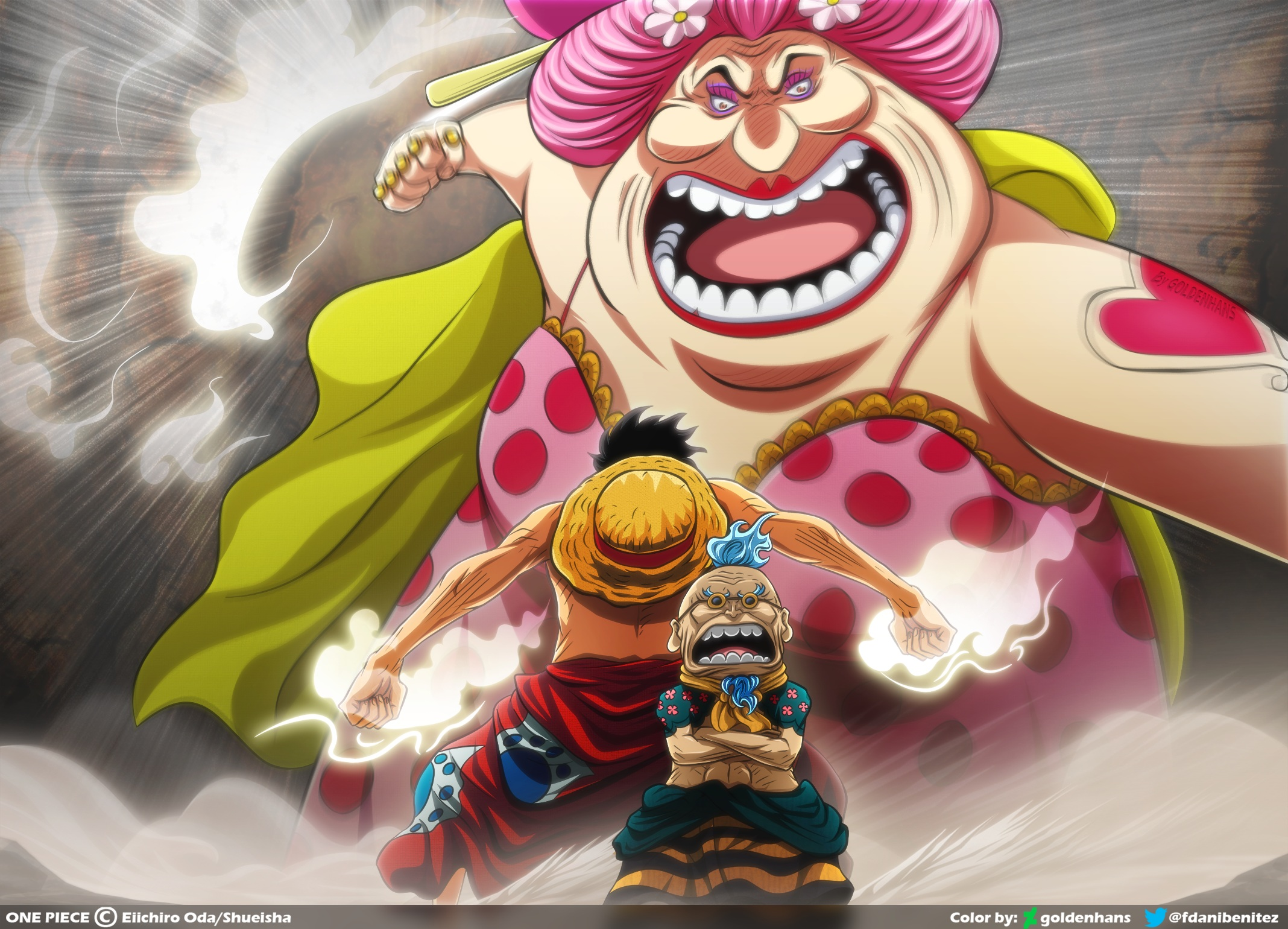 One Piece Hd Wallpaper Background Image 2136x1540 Id