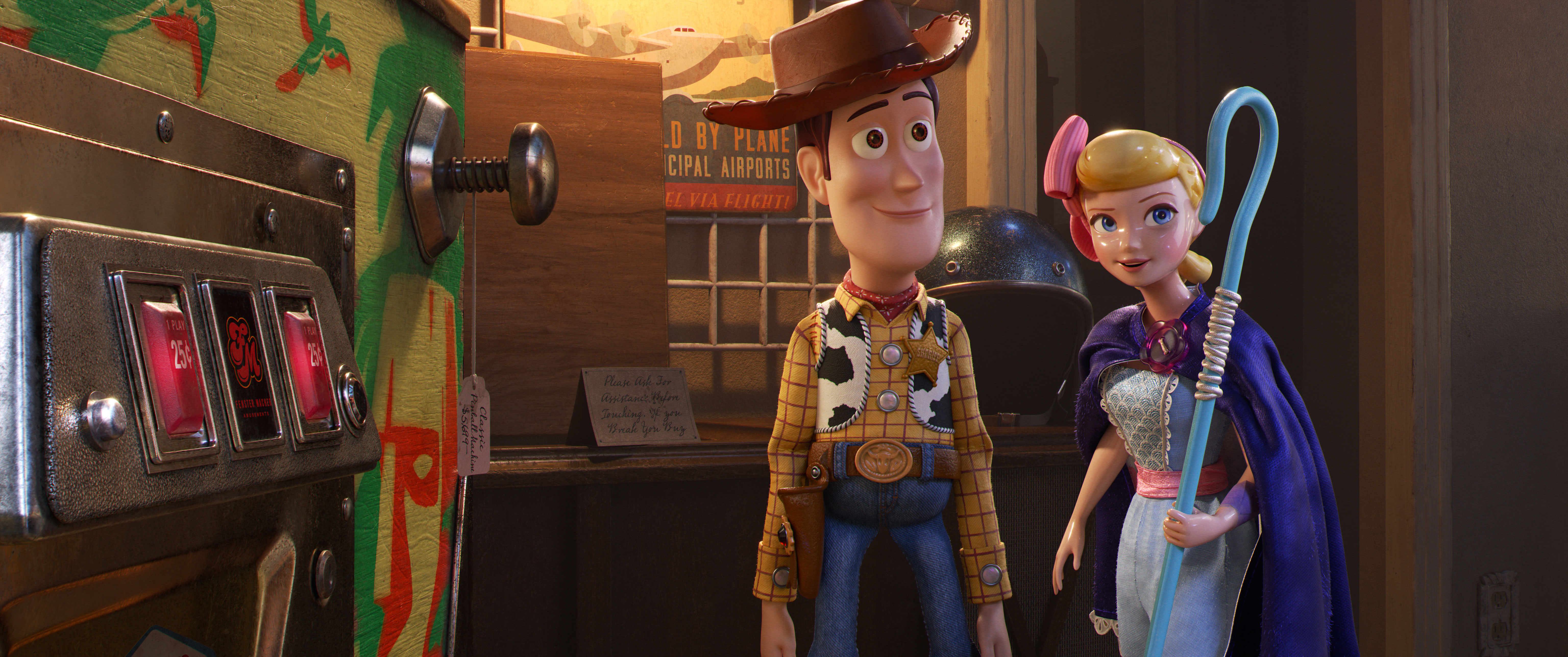 Toy Story 4 4k Ultra Hd Wallpaper Background Image