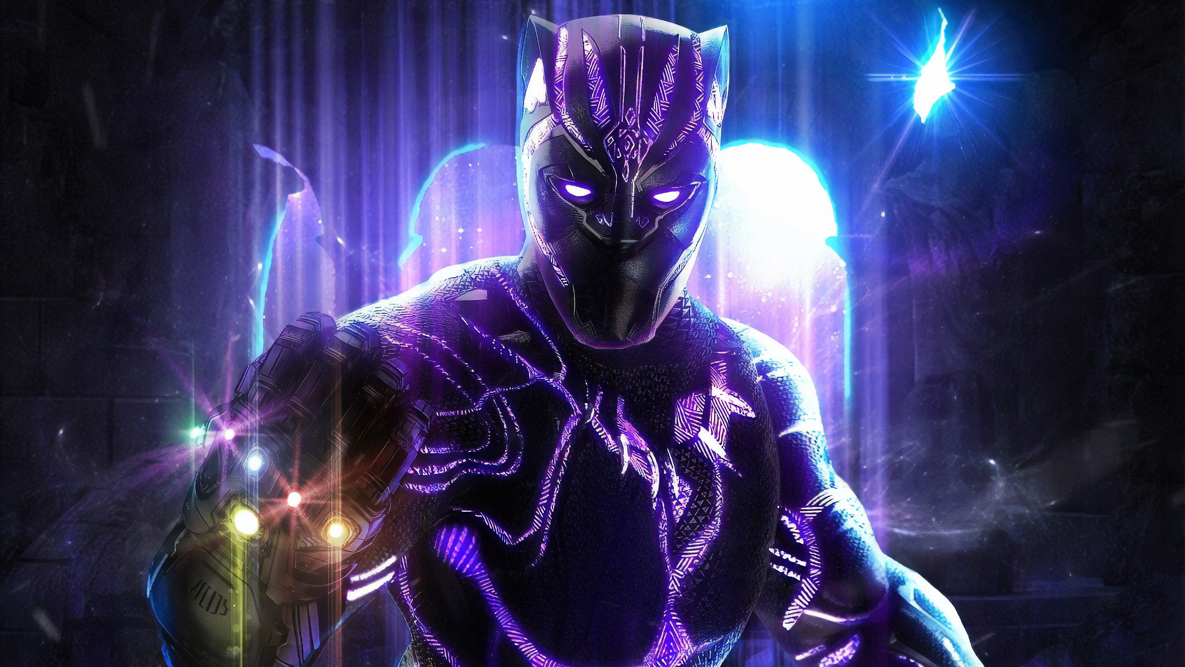 Black Panther 4k Ultra Hd Wallpaper Background Image 3840x2161 Id 1026497 Wallpaper Abyss