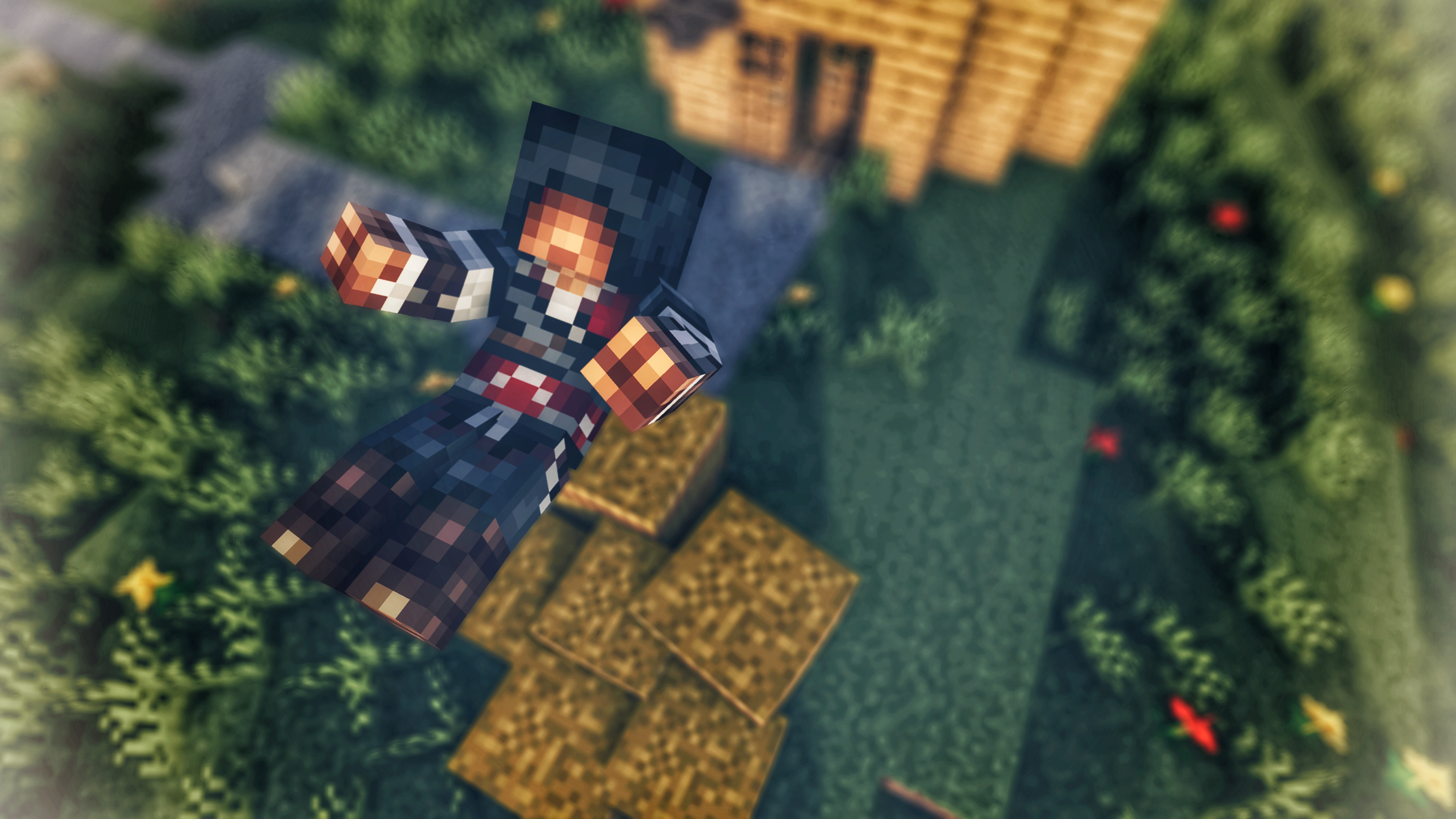 Assassins In Minecraft 4k Ultra Fond Décran Hd Arrière