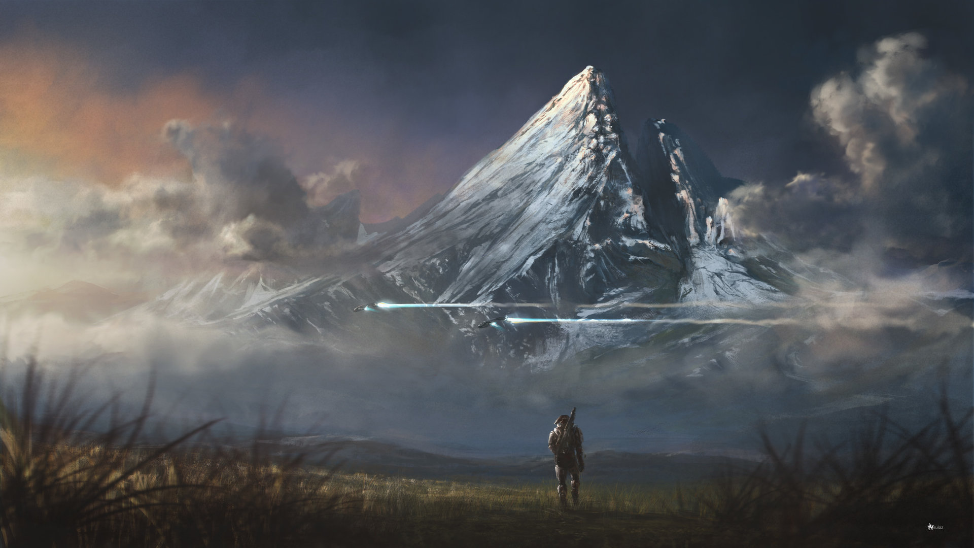 Halo: Reach HD Wallpaper | Background Image | 1920x1080 ...