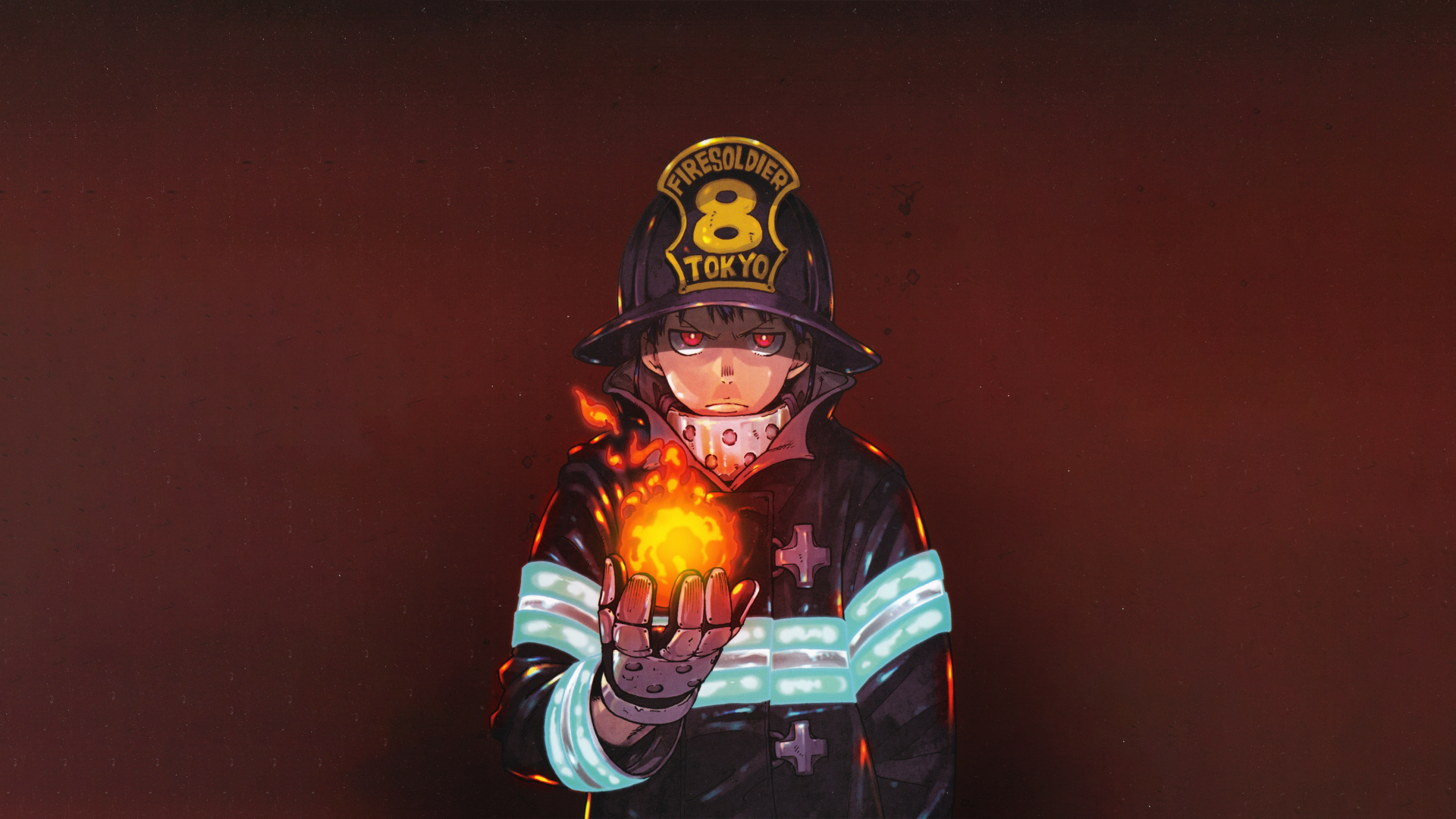 9 4k Ultra Hd Fire Force Wallpapers Background Images Wallpaper Abyss