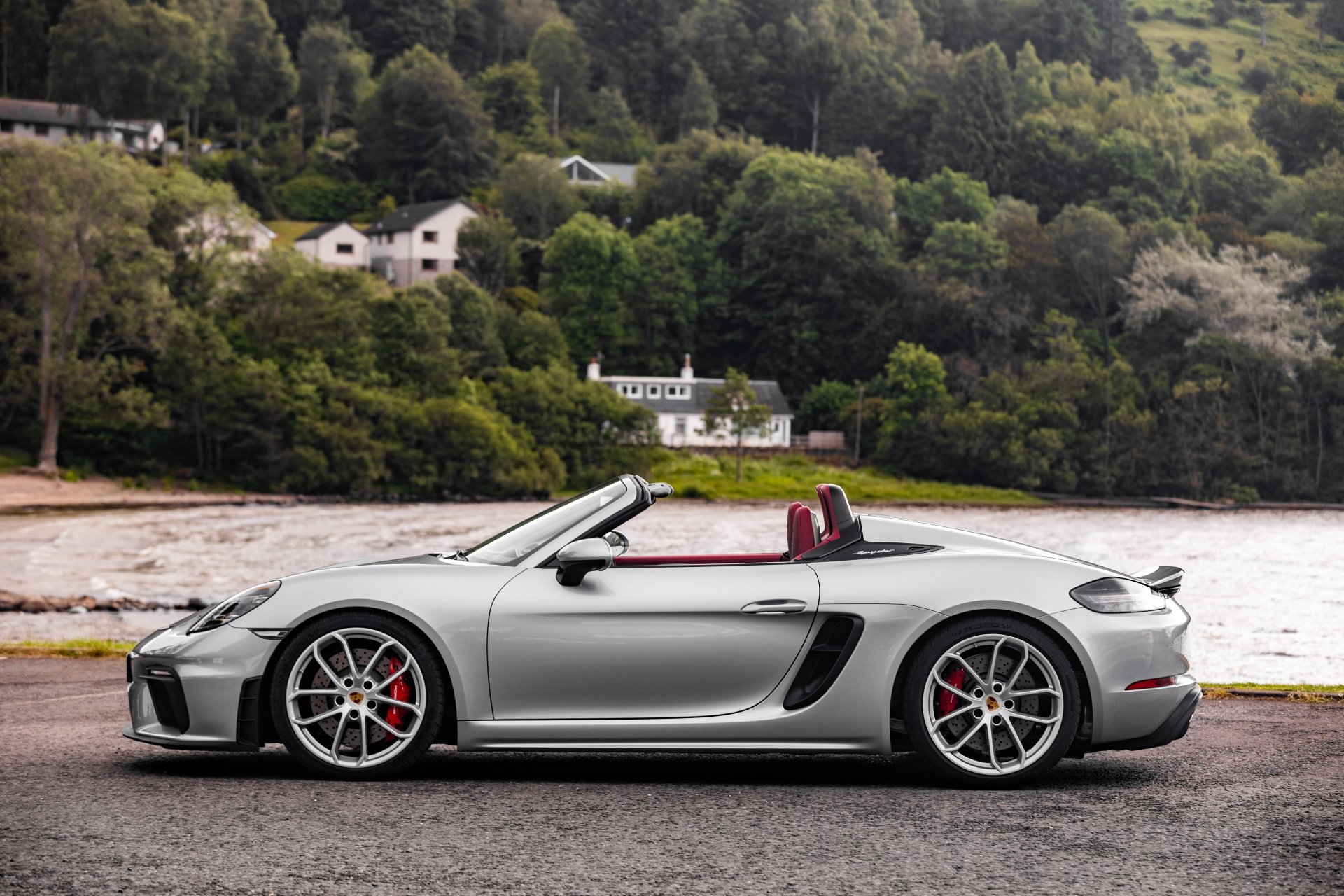 21 Porsche 718 Spyder Hd Wallpapers Background Images Wallpaper Abyss