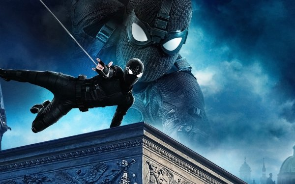 Movie Spider-Man: Far From Home Spider-Man Peter Parker HD Wallpaper   Background Image
