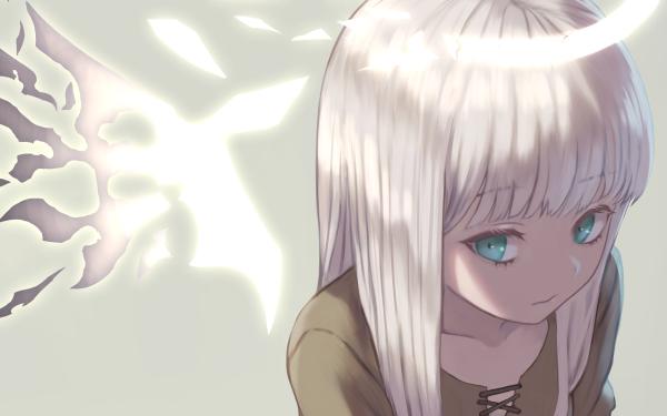 Anime Original White Hair Fondo de pantalla HD   Fondo de Escritorio