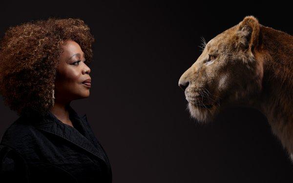 Movie The Lion King (2019) Alfre Woodard Sarabi HD Wallpaper | Background Image