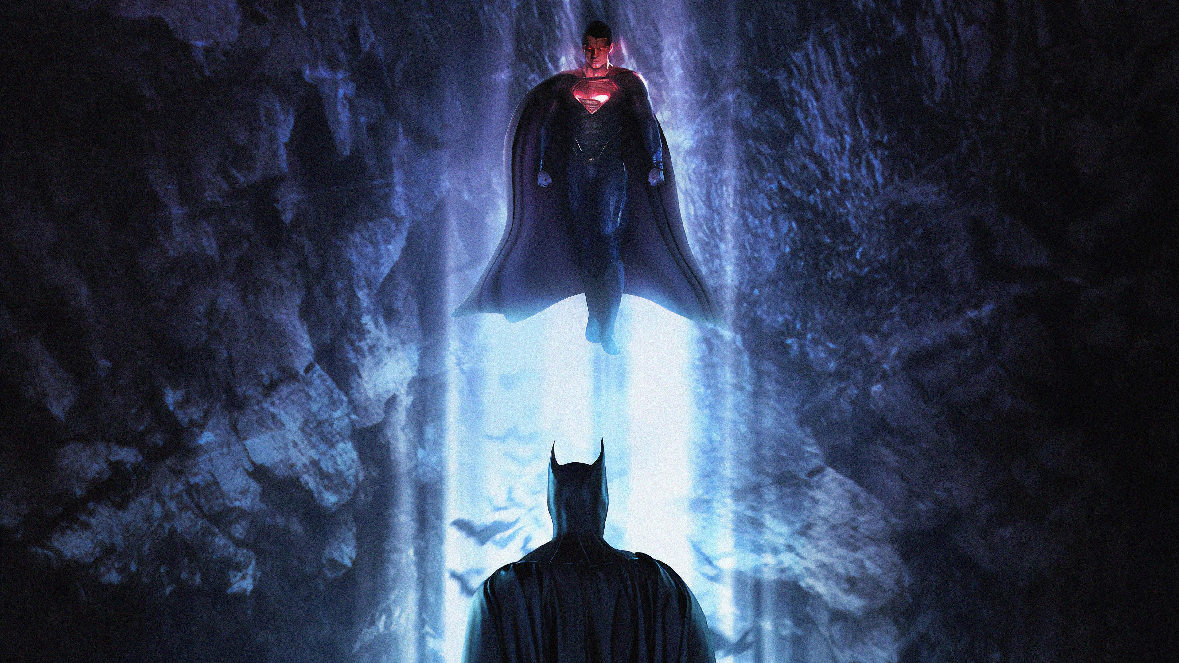 Batman Vs Superman 4k Ultra Hd Wallpaper Background Image