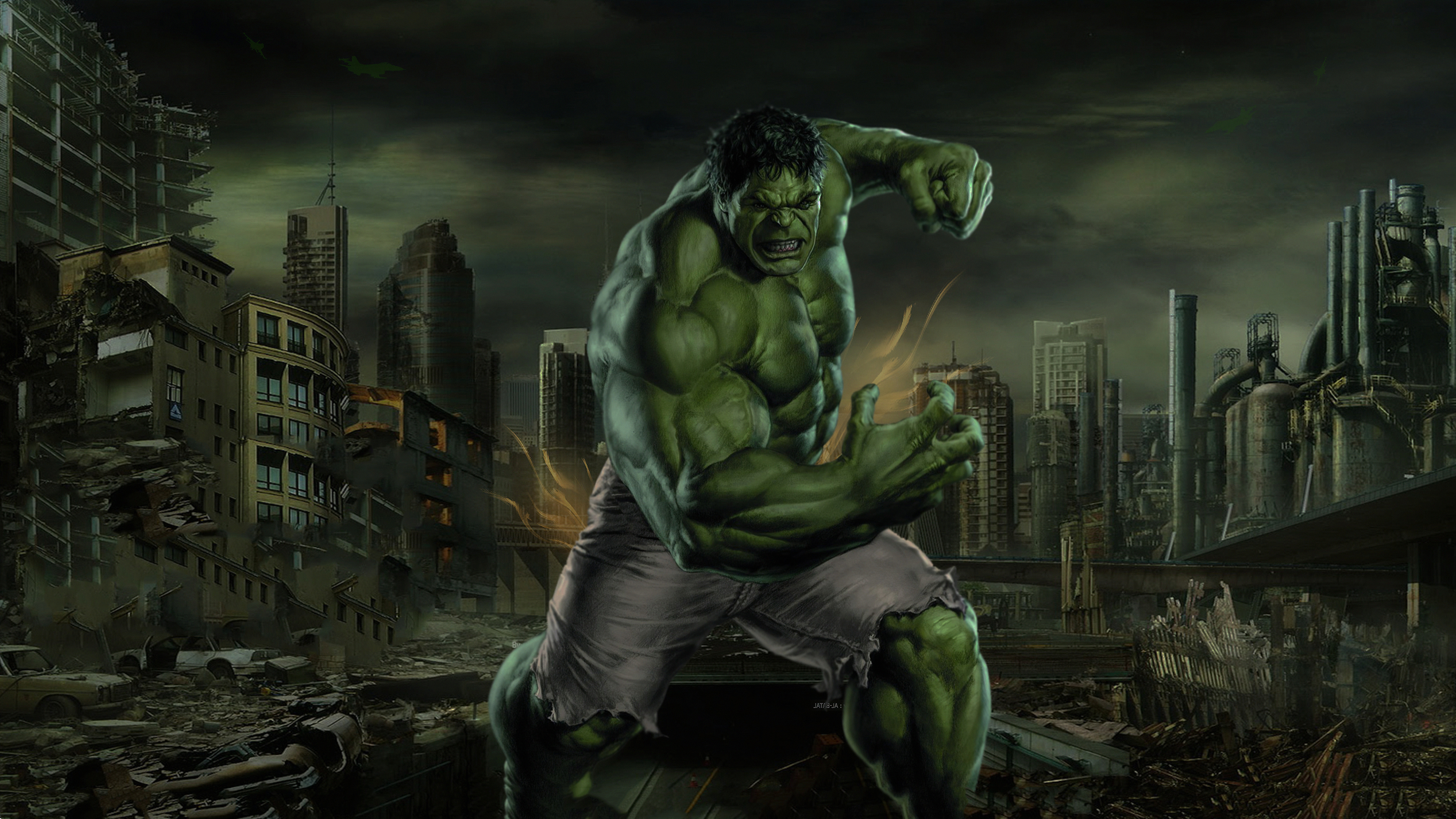 Hulk 4k Ultra Hd Wallpaper Hintergrund 3840x2160 Id 1031133