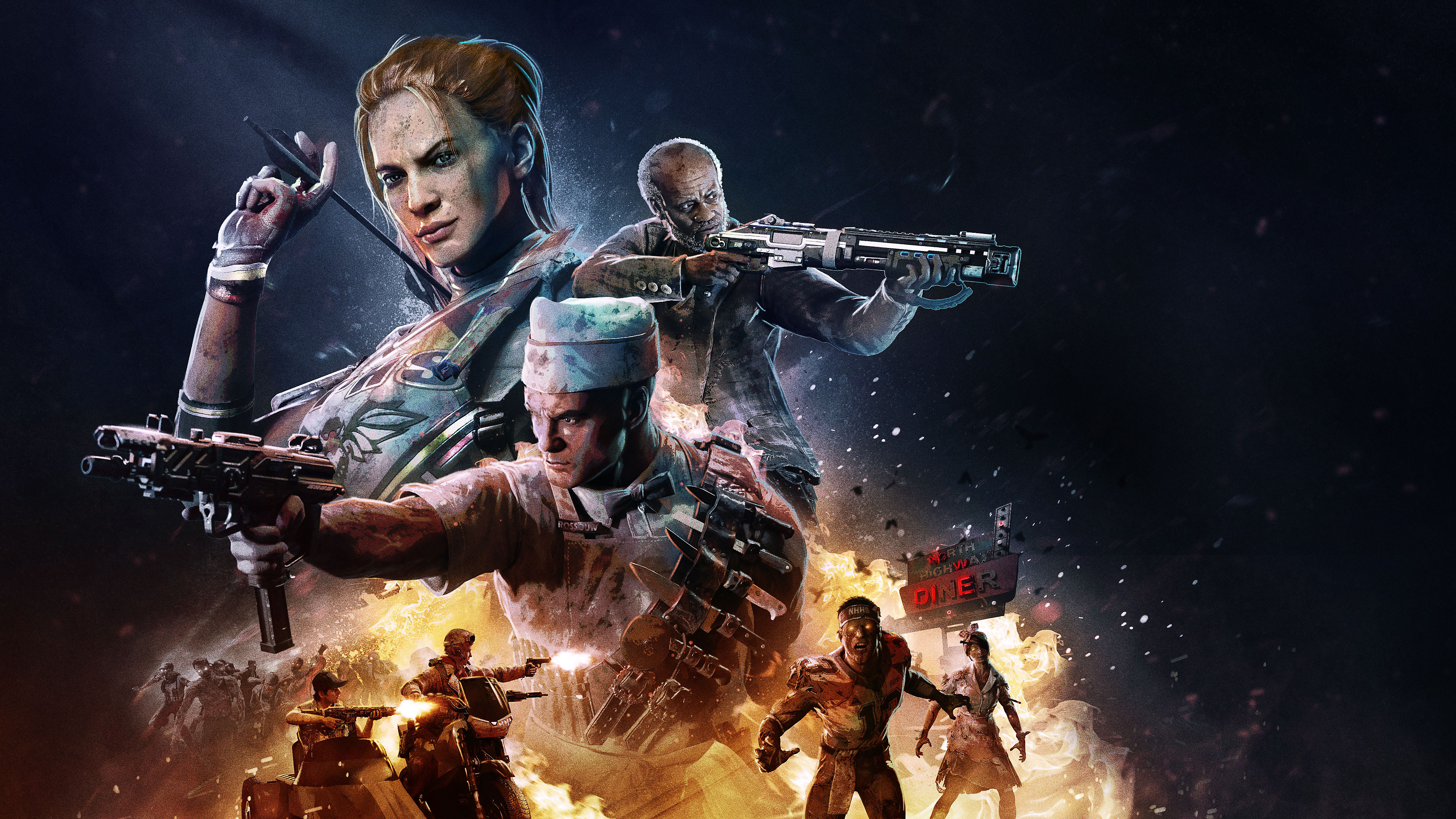 Call Of Duty Black Ops 4 4k Ultra Hd Wallpaper Background Image