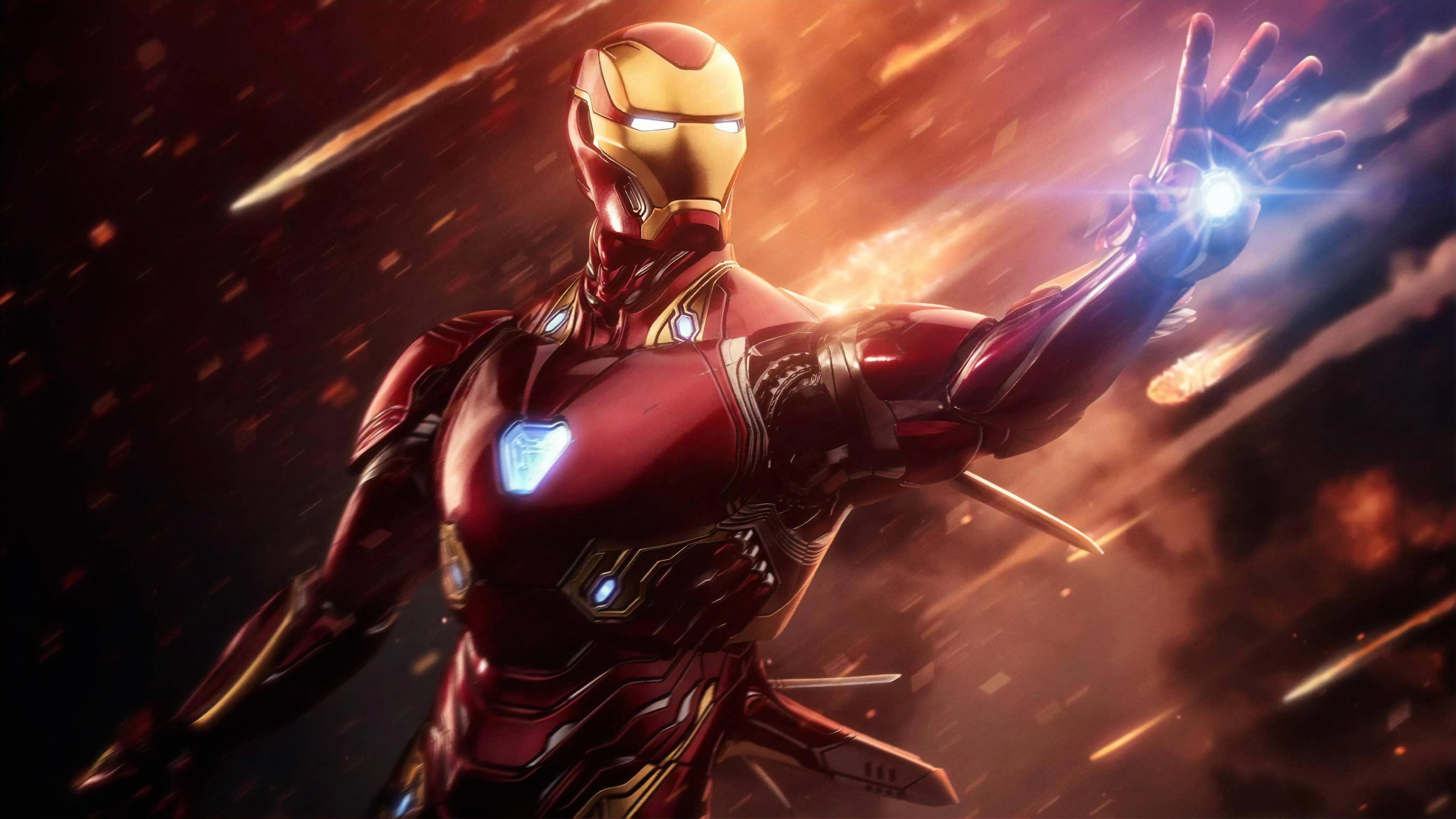 Iron Man 4k Ultra HD Wallpaper