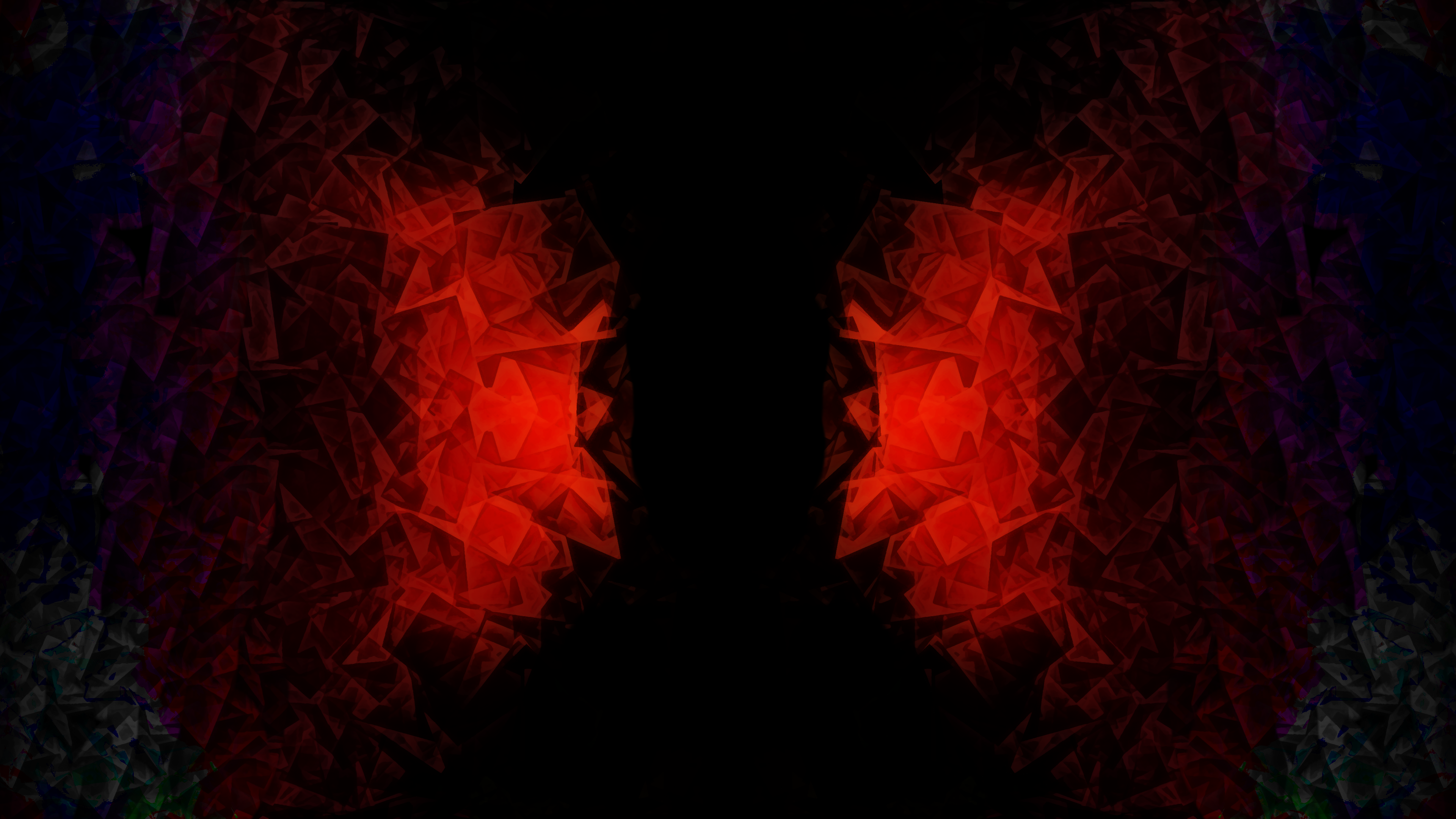 D D Crystal 4k Ultra Hd Wallpaper Background Image 3840x2160