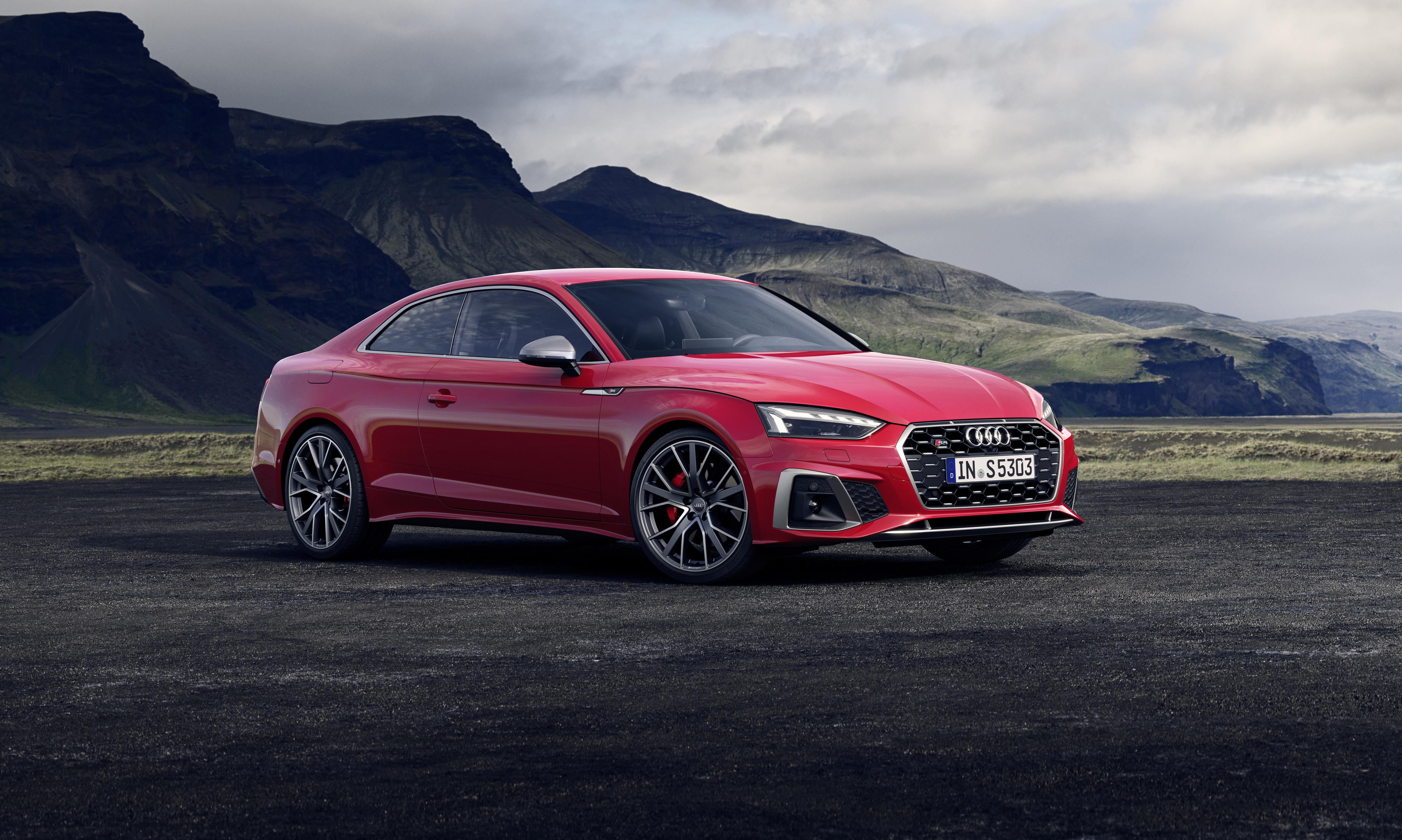 2020 Audi S5 4k Ultra Hd Wallpaper Background Image 4961x2974