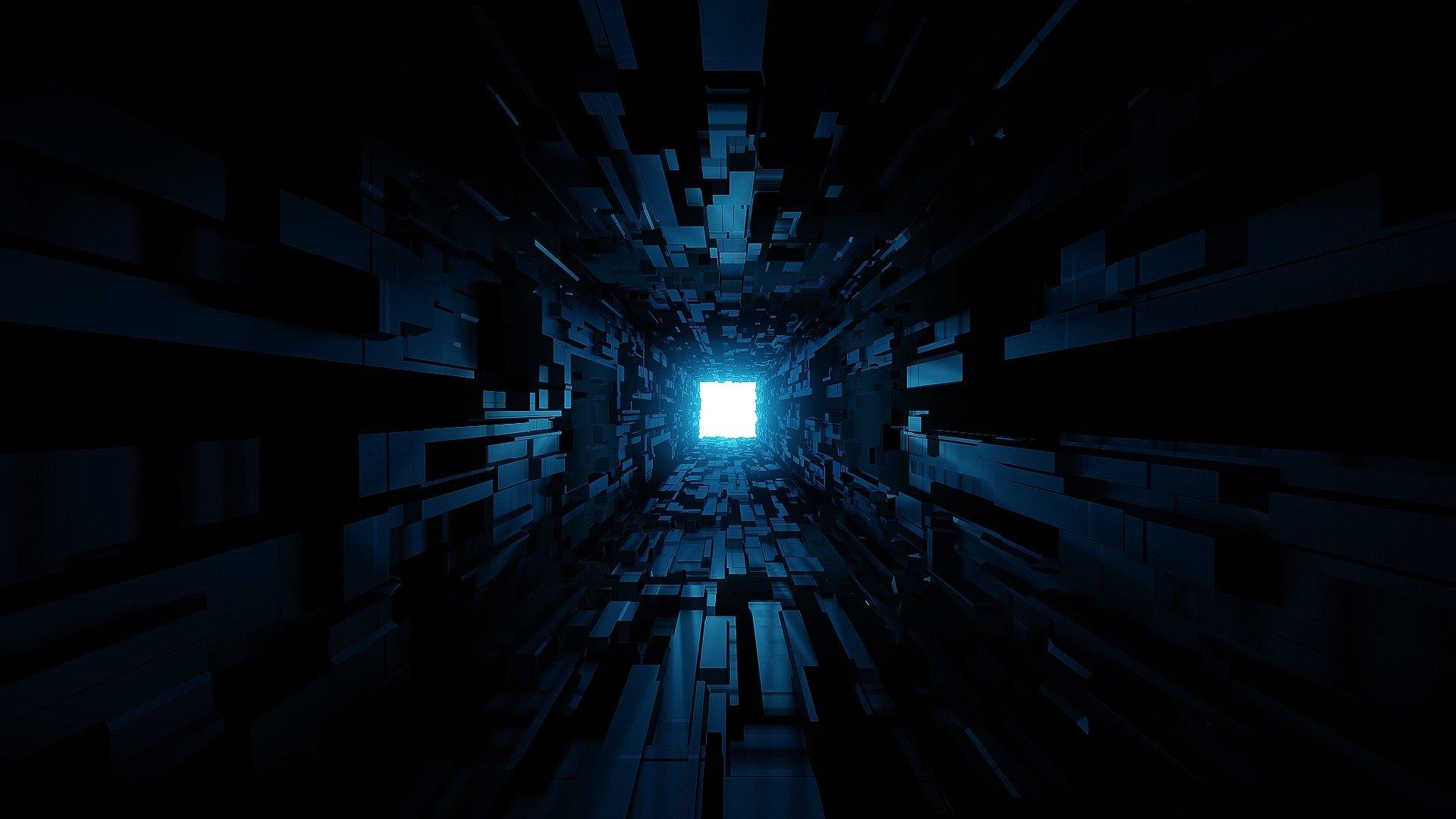 Light At The End Of A Dark Tunnel Fondo De Pantalla Hd