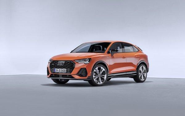 Vehicles Audi Q3 Audi Car SUV Luxury Car Orange Car HD Wallpaper | Background Image
