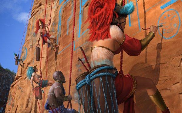 Fantasy People Tribal HD Wallpaper | Background Image