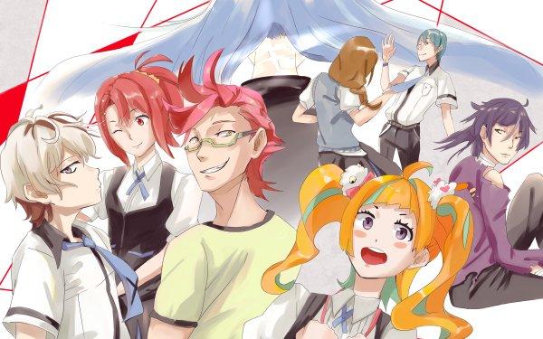 Anime Kiznaiver Chidori Takashiro Niko Niiyama Hajime Tenga Katsuhira Agata Yoshiharu Hisomu Tsuguhito Yuta Honoka Maki HD Wallpaper | Background Image