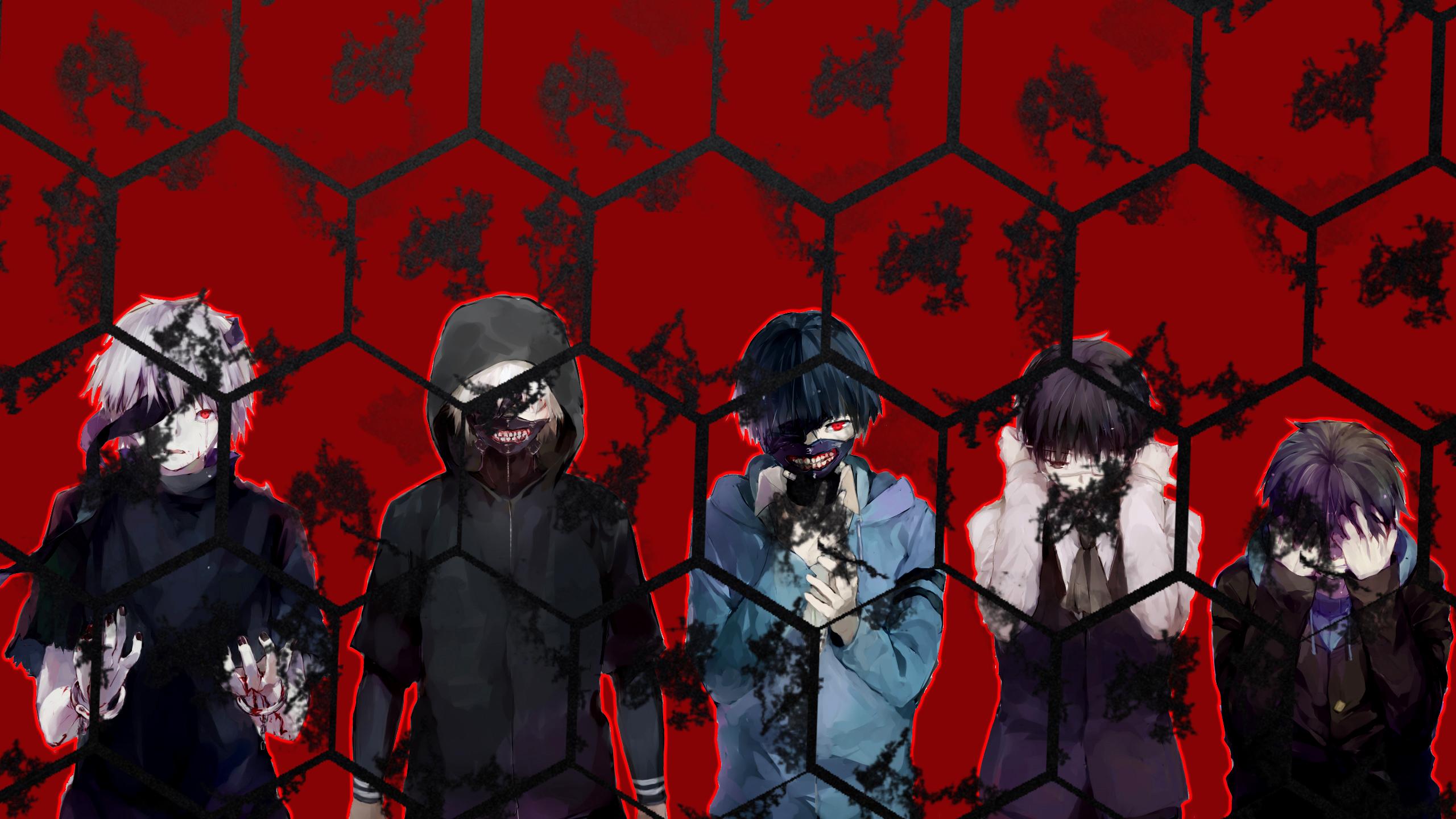Tokyo Ghoulre Fondo De Pantalla Hd Fondo De Escritorio