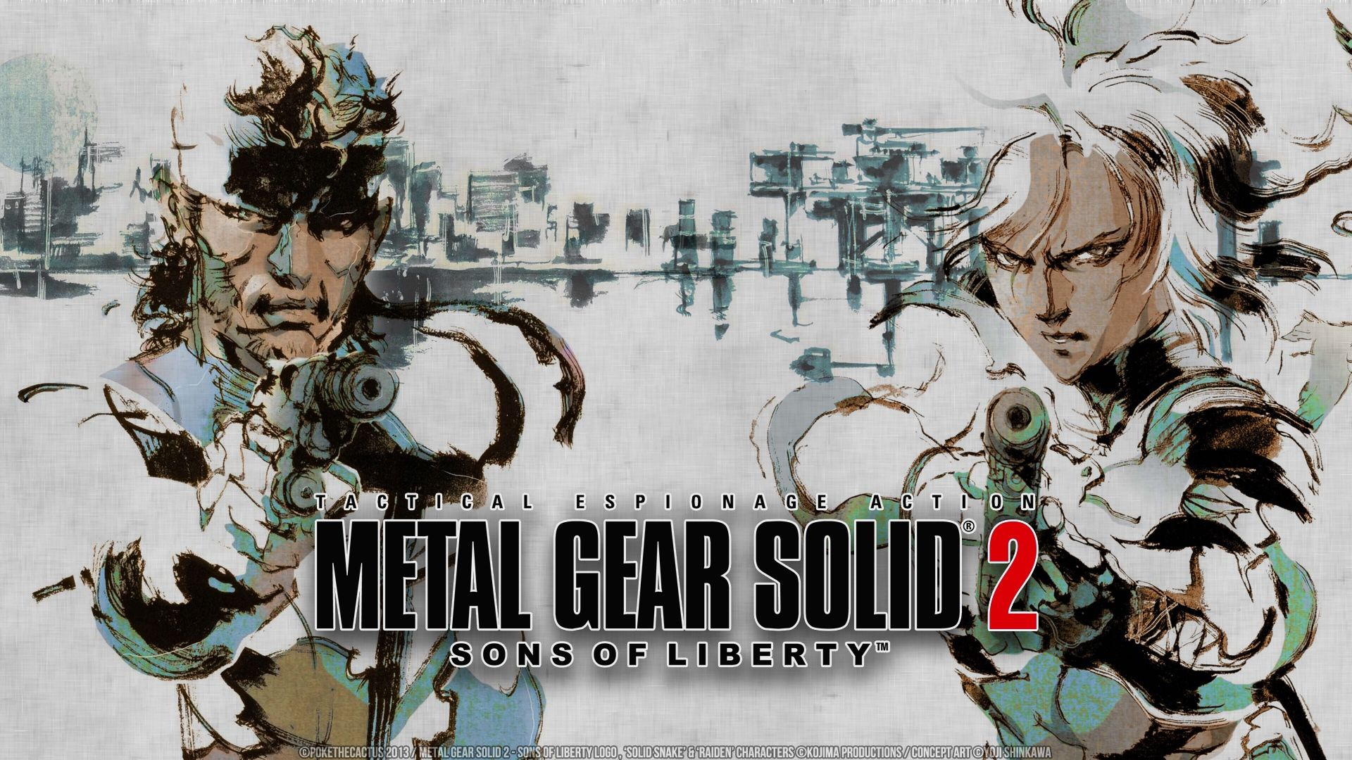 Metal Gear Solid 2 Sons Of Liberty Hd Wallpaper Background