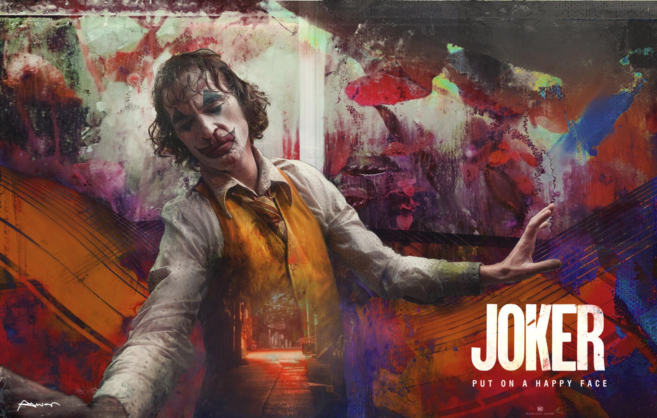 Joker Hd Wallpaper Hintergrund 2100x1337 Id 1044576