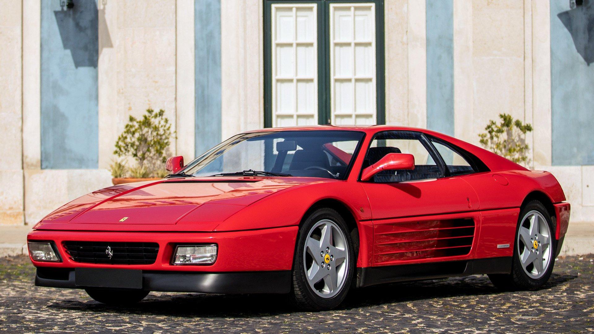 1989 Ferrari 348 Tb Fondo De Pantalla Hd Fondo De