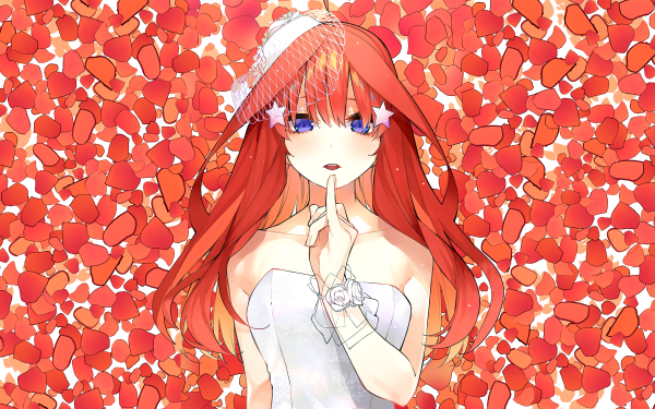 Anime The Quintessential Quintuplets Itsuki Nakano Gotoubun no Hanayome HD Wallpaper | Background Image