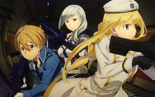 Video Game Sword Art Online: Fatal Bullet Sword Art Online Alice Zuberg Eugeo HD Wallpaper | Background Image