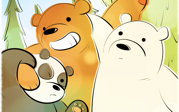 We Bare Bears Hd Wallpaper Background Image 1920x1080 Id 896758 Wallpaper Abyss