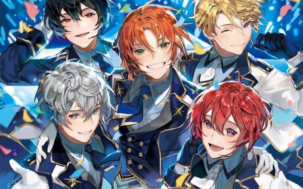 Anime Ensemble Stars Arashi Narukami Ritsu Sakuma Izumi Sena Tsukasa Suou Leo Tsukinaga HD Wallpaper | Background Image