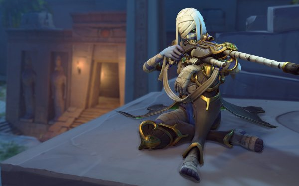 Video Game Overwatch Ana HD Wallpaper   Background Image